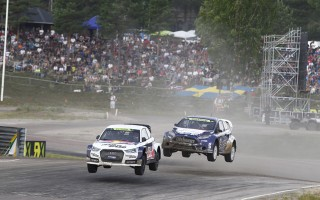 DTM王者のエクストロームが世界RXスウェーデン戦勝利