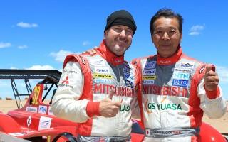 三菱が電気自動車改造クラスで初優勝