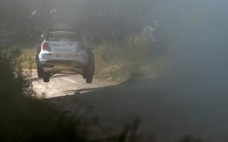 WRCポーランド:波乱の一日を制しオジエがリード