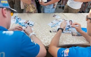 WRCイタリア:プレ会見「負けたくないのはみんな同じ」