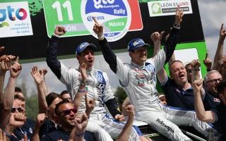 WRCメキシコ:ラリーレポート