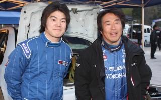 新井敏弘、2014年は全日本ラリーにフル参戦