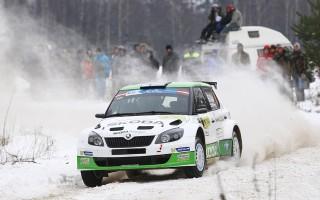 ERCラトビア:レグ1はラッピが首位