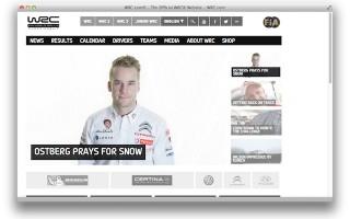 WRCオフィシャルサイト「wrc.com」がリニューアル