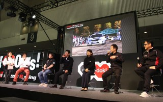 新井、勝田、奴田原、モリゾウがトークショーで競演