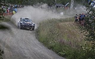 WRCフィンランド:2日目を終えラトバラが僅差の総合首位に