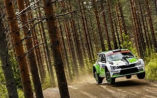 ファビアR5のラッピ、WRCフィンランドで総合8位と大健闘