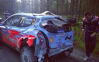 WRCフィンランド:シェイクダウンでヌービルがクラッシュ