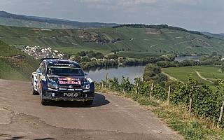 WRCドイツ:競技初日はフォルクスワーゲンが上位独占