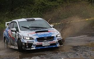 全日本ラリーモントレー:デイ2、驚異の追い上げを見せた新井敏弘が逆転優勝