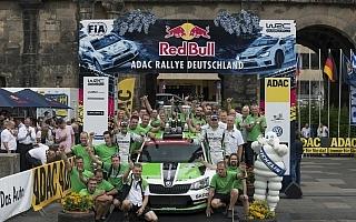 WRCドイツ:WRC2はファビアR5のコペッキーが優勝