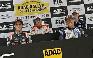 WRCドイツ:プレ会見「このラリーが怖かったこともある」