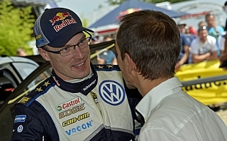 WRCドイツ:デイ2コメント「2位に不満はない」