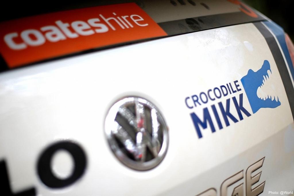 今回のマシンのリヤには Crocodile MIKK という絵が貼られた。オーストラリアではワニも多いからね!