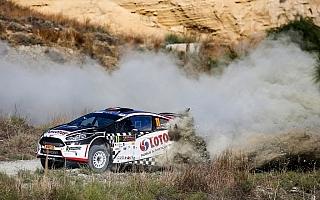 ERCキプロス:初日トップは選手権リーダーのカエタノビッチ
