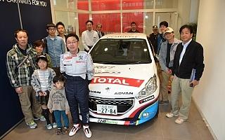 プジョー前橋で208GTiドライバー、柳澤宏至のトークショー開催