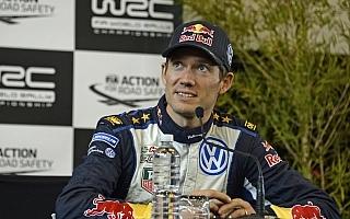 WRCオーストラリア:プレ会見「余計なプレッシャーはない」