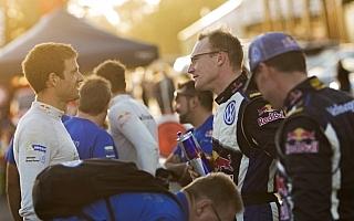 WRCオーストラリア:デイ2コメント「2位で終わるためにここにいるんじゃない」
