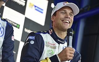 WRCスペイン・ポスト会見「次はもっと楽に行けるはず」