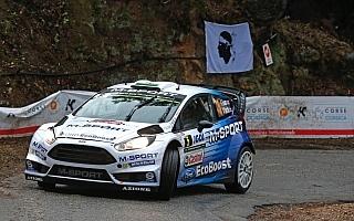 WRC第11戦ツール・ド・コルス:初日首位はMスポーツのエバンス!