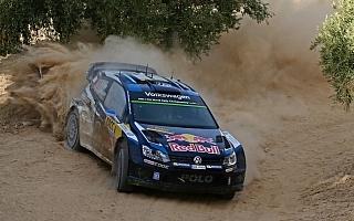 WRCスペイン:2日目を終えてトップはオジエ