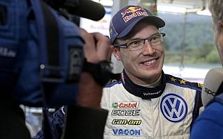 WRCコルシカ:デイ3コメント「この勝利をトイボネンに捧げる」
