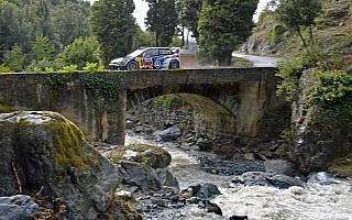 WRC第11戦ツール・ド・コルス:ラトバラとエバンス、2秒差で最終日へ