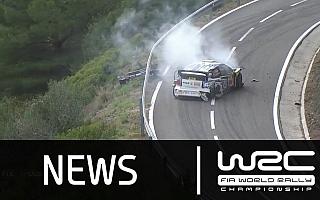 【動画】WRCスペイン:オジエがクラッシュ、ミケルセンの初優勝が決定した瞬間