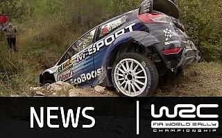 【動画】WRCスペイン:SS14-17の速報動画、VW勢が1-2-3