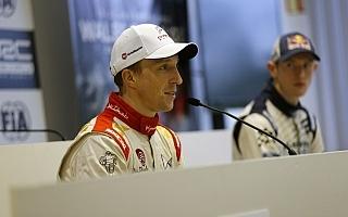 WRC GB:プレ会見「今後の事はボスに聞いて」