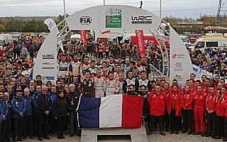 WRC、ラリーGBのセレモニーで犠牲者を追悼