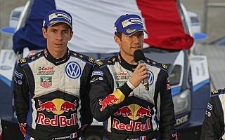 WRC GB・ポスト会見「僕にも今年は一回、ミスがあった。」