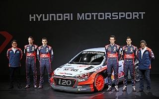ヒュンダイが新型i20 WRCを発表、2016年の14戦全戦で3台体制
