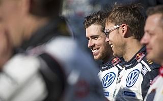 WRCモンテカルロ:デイ4コメント「初コンビでポディウムはそれだけで最高」