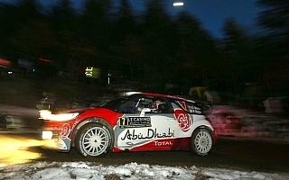 WRCモンテカルロ:競技初日のトップはミーク!