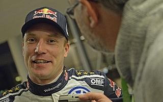 WRCスウェーデン:デイ1コメント「スポーツマンらしく、前を向いて次にアタック」