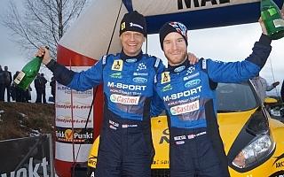 ノルウェー選手権戦で優勝のオストベルグ、WRCスウェーデンに弾み