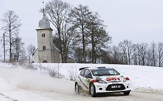 ERC開幕戦リエパヤは、暖冬で開催中止