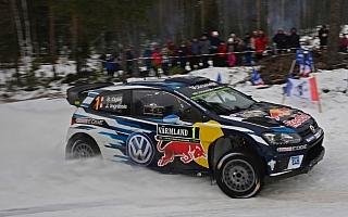 WRCスウェーデン:パッドンがオジエに次ぐ総合2番手