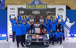 WRCスウェーデン:オジエ盤石の開幕2連勝