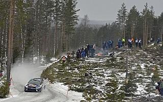 WRCスウェーデン:パッドンの追撃を抑えオジエが首位堅持