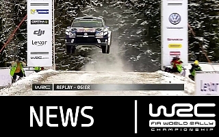 WRCスウェーデン:動画で振り返る雪上の高速バトル