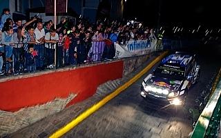 WRCメキシコ:競技初日はオジエが順当にリード