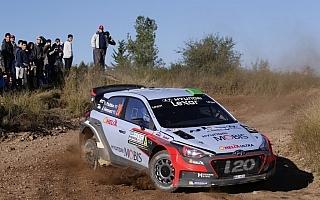 WRCアルゼンチン:シェイクダウン、トップタイムはパッドンがマーク