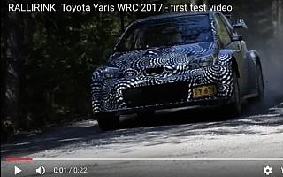 [動画修正] ヤリスWRC、ポロWRCのテスト動画がネットに流出