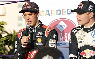 WRCイタリア:デイ2コメント「トップ争いに復帰できてうれしい」