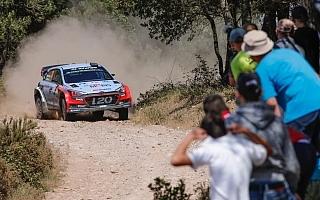 WRCイタリア:ヒュンダイのヌービルが快走、リードを広げる