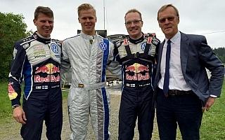 VWのフィンランドテストをバタネンがアポなし訪問