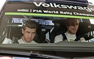 WRCポーランド:デイ2コメント「ふたつのラリーを走っているよう」