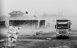 シルクウェイラリー レグ11:砂嵐で競技はキャンセル